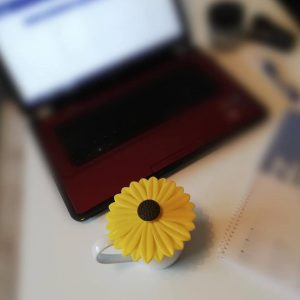 Sunflower Cup Lid